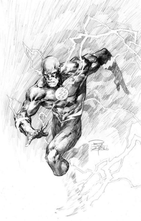 "half-baked-barry:  ""The Flash"" by Philip Tan"