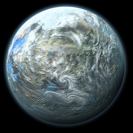 "electricspacekoolaid:  The Most Earth-Like Alien Planet Discovered by NASA's Kepler Space Telescope !  The most Earth-like world yet detected beyond our solar system has been discovered, scientists say. With a radius that is just 1.5 times that of Earth, the potential planet is a so-called ""super-Earth,"" meaning it is just slightly larger than the Earth. The candidate planet orbits a star similar to the sun at a distance that falls within the ""habitable zone"" — the region where liquid water could exist on the planet's surface. Scientists say the planet, if confirmed, could be a prime candidate to host alien life.       ""This was very exciting because it's our fist habitable-zone super Earth around a sun-type star,"" astronomer Natalie Batalha, a Kepler co-investigator at NASA's Ames Research Center in Moffett Field, Calif., said Tuesday (Jan. 8) here at the 221st meeting of the American Astronomical Society. The find could be the closest so far to an Earth twin beyond the solar system. ""It's a big deal,"" astrophysicist Mario Livio, of the Space Telescope Science Institute in Baltimore, told SPACE.com. ""It's definitely a good candidate for life.""       +Read"