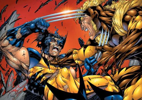 Wolverine          vs.           Sabertooth