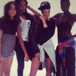 This kid is sucha G! 😘 #swag #robynfenty @badgalriri #riverisland #london #rihannanavi #rihanna #rihannanavy #rihsbian #fenty #fashion #sexy #hot #phuckyofave #1love #thuglife #unapologetic #diamonds #rih #riri #navi #navy  (at Phresh Out the Runway)