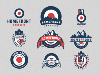 trendgraphy:  Homefront Crossfit  by Emir Ayouni