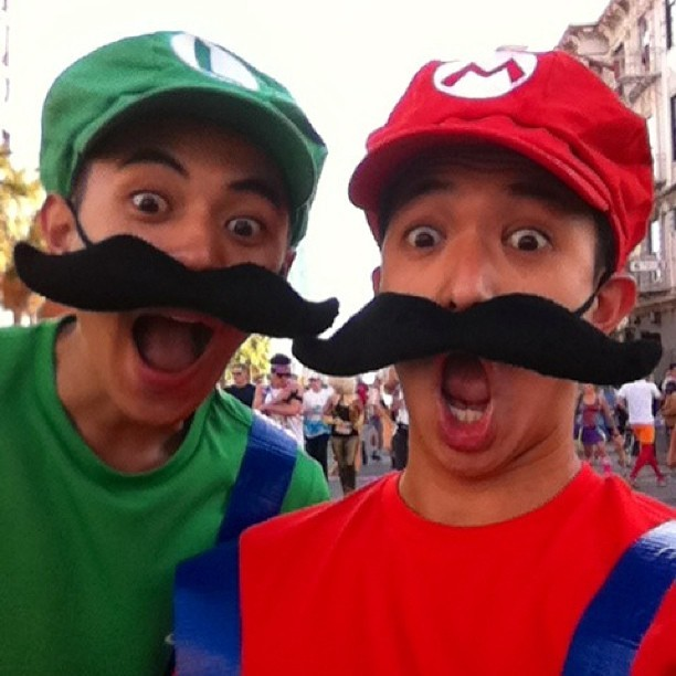 SUPER MARIO BROS (no relation) (at Bay To Breakers)