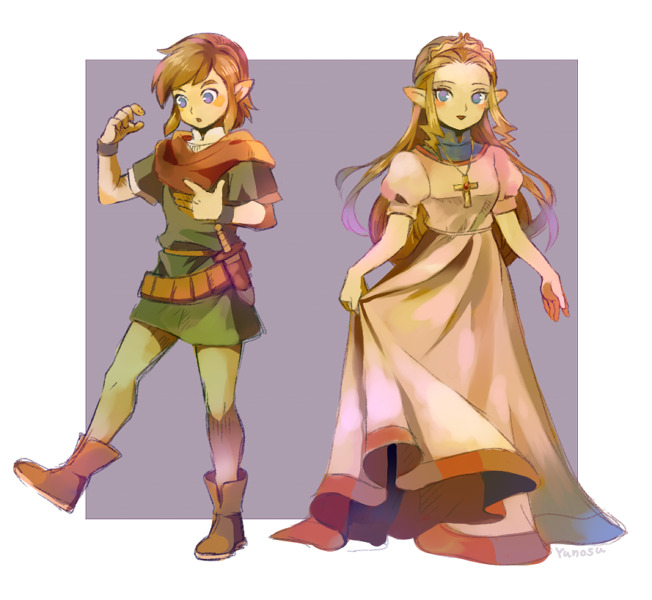 jfw90:  zelink cosplay! by ~yunosu