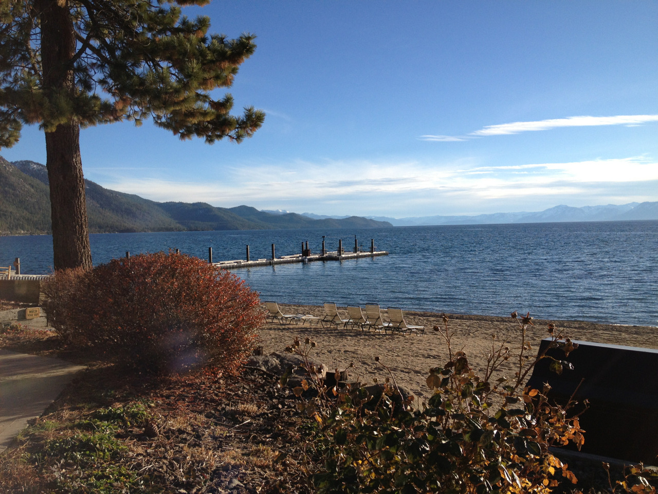 Lake Tahoe is so pretty :) #laketahoe #coldweather