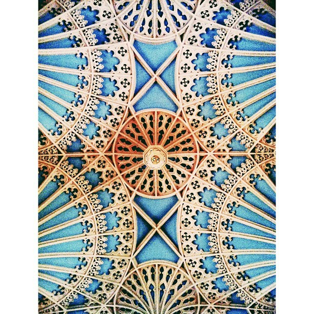 #ceiling #church #history #architecture #aliceinwonderland #vscocam #charleston #sc