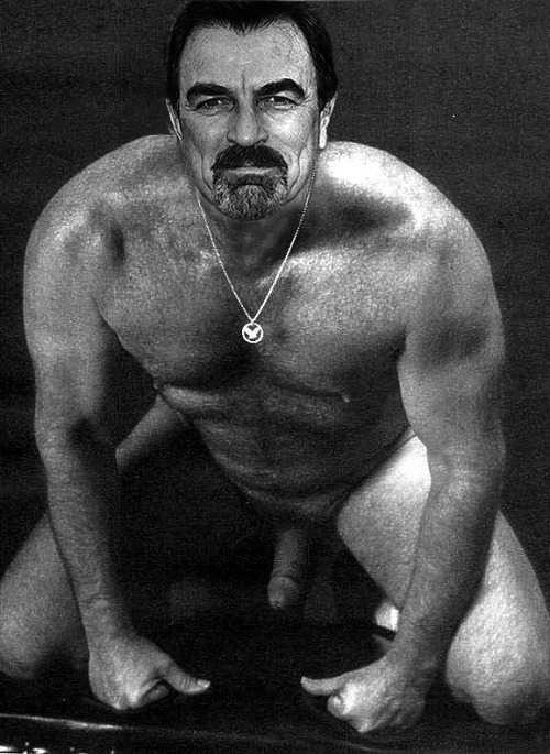 Tom Selleck Can I Put My Nose And Mouth Down There