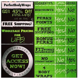 It really pays to be a Loyal Customer. Just look at all the perks added to being one. Now would you rather pay retail price for each purchase or save money??? Contact me for more info and schedule an appointment today!!! PH: (410) 575-3466