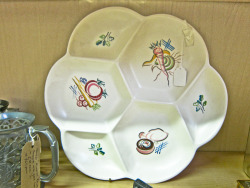 In Shop: Poole Pottery Hors d'oeuvre Dish £32