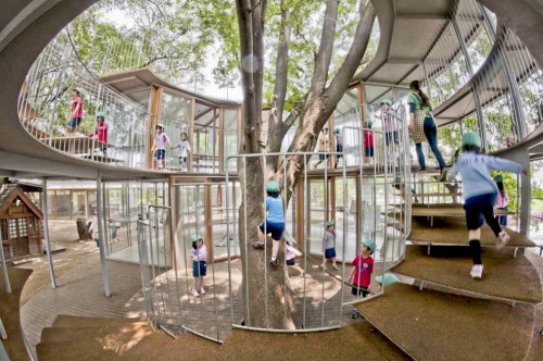 architizer:  Check Out This Playful Playground!