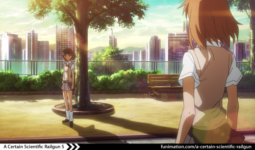 """Well, this is awkward…""Misaka finally meets her match. Watch a new episode of A Certain Scientific Railgun S on http://funimation.com/a-certain-scientific-railgun"