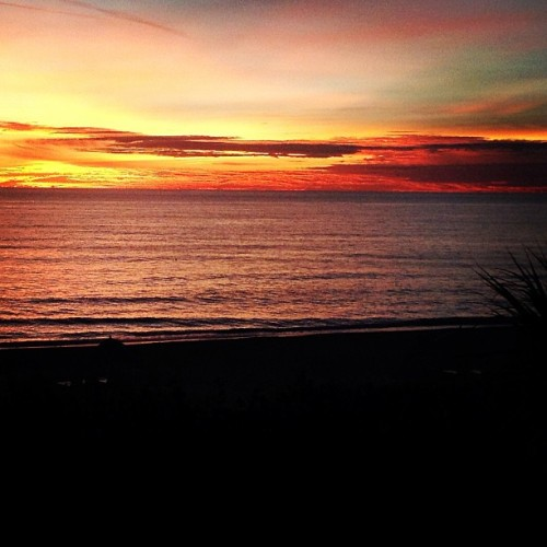 Sarasota sunset.  (at Beaches Of Beachplace)
