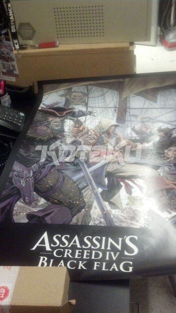 Is Assassin's Creed heading to the Caribbean?  Seems so.  Todd McFarlane illustrated this poster, which should be popping up in game outlets next week, according to Kotaku. This comes on the heels of Ubisoft announcing that the next entry will take place in a new era and star a new protagonist.  Does all of this mean we can expect a full reveal soon?  Fingers crossed.