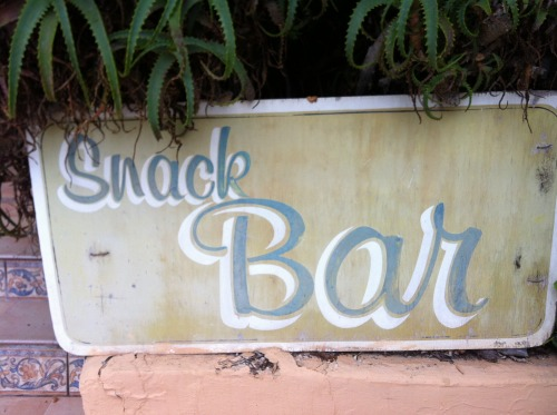 Hand Painted sign, Ibiza 2012.