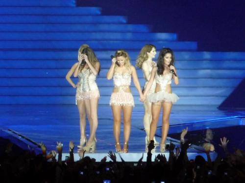 Pictures from Girls Aloud Live in Manchester