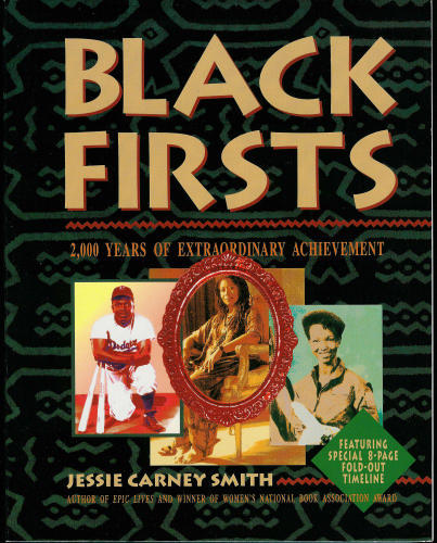 soulbrotherv2:  Black Firsts: 4,000 Ground-Breaking and Pioneering Historical Events by Jessie Carney Smith A superb historical study of black achievement. – Houston Chronicle. Readers will revel in the stories of barrier-breaking pioneers in all fields-arts, entertainment, business, civil rights, education, government, inventing, journalism, religion, science, sports, and more. And they will rejoice in their triumphs. With hundreds of illustrations and a daily calendar of firsts, this book is the culmination of many hours of work, courage, and perseverance, the exact qualities represented within. A testament to a rich but often overlooked part of history, this chronicle reveals stories of a people overcoming adversity to emerge triumphant and celebrates those who have won personal victories against the forces arrayed against them.