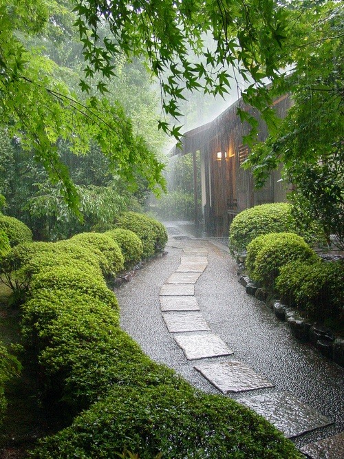 bluepueblo:  Rainy Day, Kyoto, Japan photo via liz