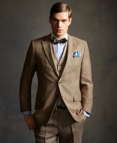 thesnobreport:  The Gatsby Collection by Brooks Brothers
