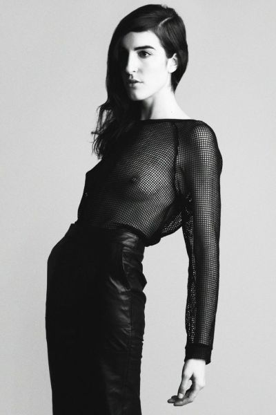 ( . )( . ) top - h&m leather skirt - asos photographer - heather gildroy