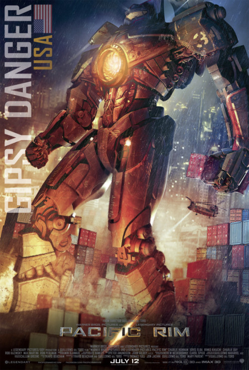 Poster: 'Pacific Rim' | Film Thrasher Gipsy Danger