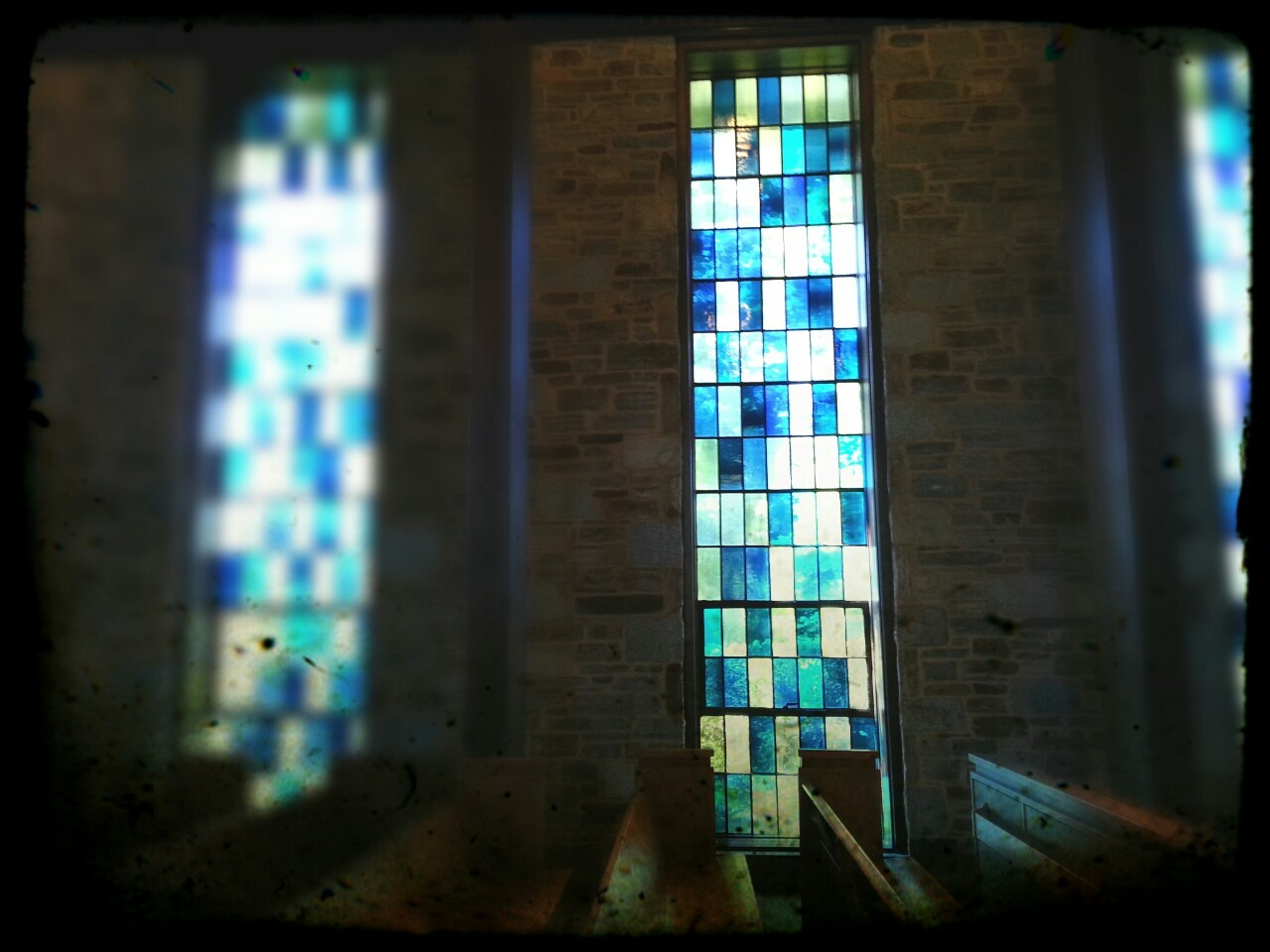 The chapel at Goucher College in Baltimore.