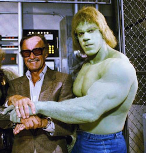 Stan Lee and the Hulk