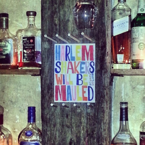 A sensible policy governs Racket Bar in Auckland / on Instagram http://instagr.am/p/WhwcjUMHKm/