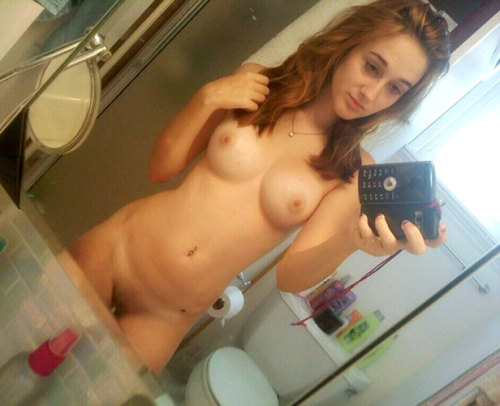 Amatuer redhead self pictures