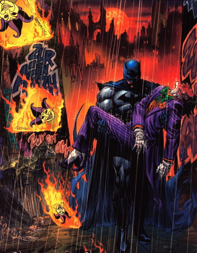 super-nerd:  Batman & Joker by Andy Kubert