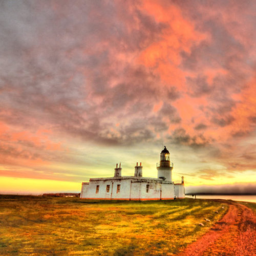 Lighthouse at Chanonry Point, Black Isle, Scotlandby Steve