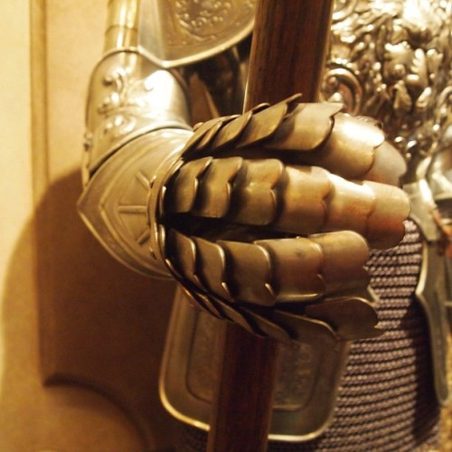 Armor inside #beourguestrestaurant #beastscastle #beautyandthebeast #magickingdom #newfantasyland #waltdisneyworld  (at Be Our Guest Restaurant)