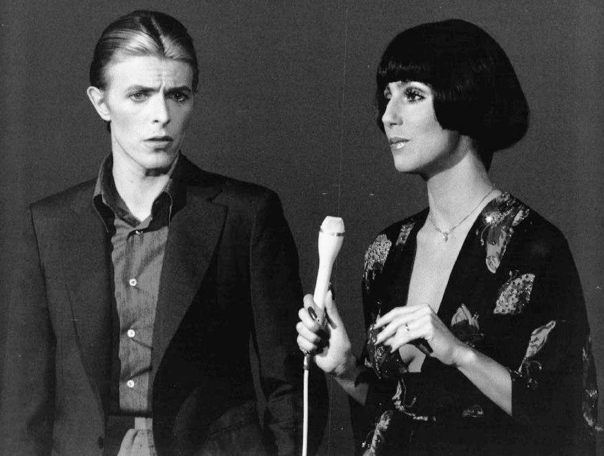 David Bowie and Cher, 1975
