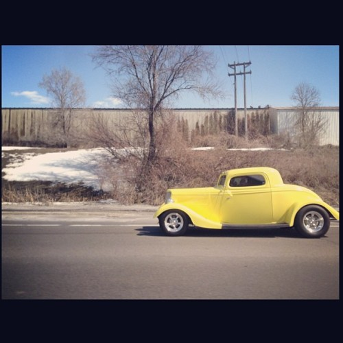 Saw this on the road.  #hotrod