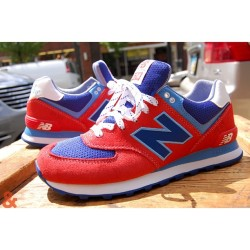 new balance 574 yacht pack red #574 #newbalance