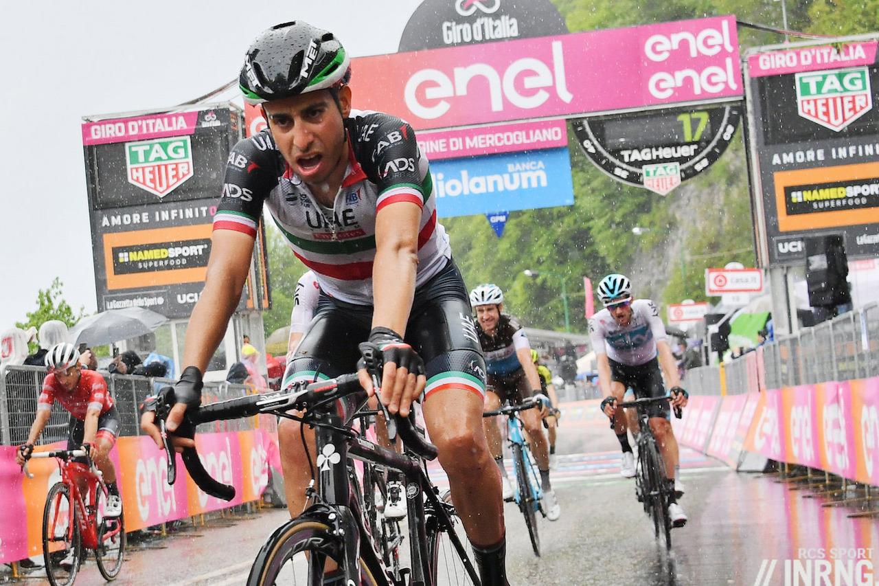 Fabio Aru, Giro 2018
