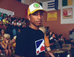 N*E*R*D were the first band I saw live when I was 13. Pharrell held my hand and called me 'baby'. I almost died. SWOON.