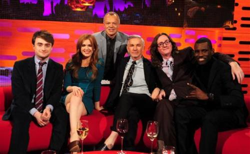 Daniel Radcliffe | The Graham Norton Show | May 16, 2013 Thanks to Simply Daniel Radcliffe for the pic