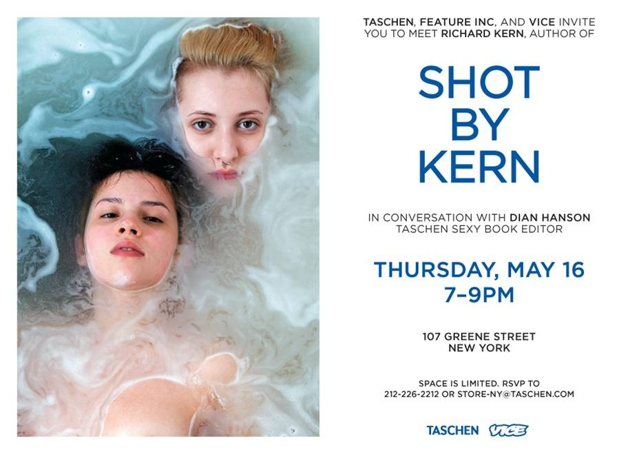 Come Hear Richard Kern Discuss His Beautiful Photos of Cute Naked Girls Tomorrow in NYC