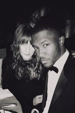 misterand:  Florence Welch and Frank Ocean