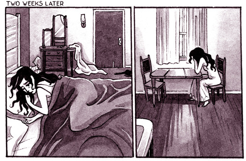 Two new pages of Chester 5000: Isabelle and George http://jessfink.com/Chester5000XYV/?p=503 Haha, these are the most depressing pages, I KNOW.