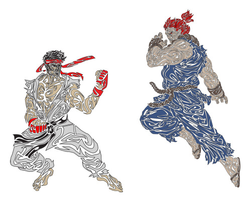 © 2013 Megan Yiu. Ryu VS Akuma. Who will win?