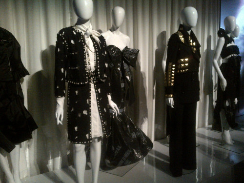 "Looks from yesterday's ""Punk: Chaos to Couture"" preview at the Met."