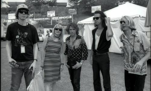 Thurston Moore, Kim Gordon, Kim Salmon, Nick Cave, and Mark Arm