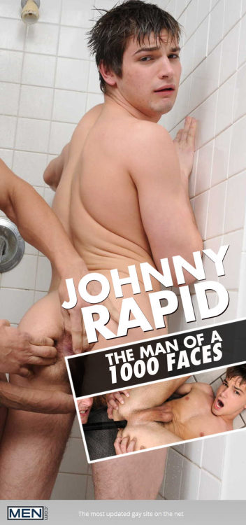 I swear Johnny Rapid is The Man of 1000 Faces! He is the master of the O. And there's never been a better time to see all of them… http://j.mp/1dpOd8b