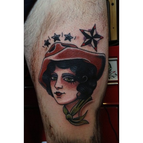 fuckyeahtraditionaltattoos:  Jess Swaffer - Melbourne, Australia