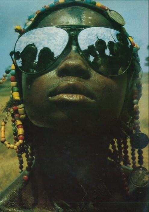 anotherafrica:  Shades & Swagger # 6 |  On a scale of 1 to 10, off the charts! The photographer - if one we knew!!! Said to be from Vogue Paris, 1972…