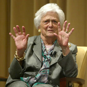 (via Barbara Bush Against Son Jeb Bush Running For President | News | Uinterview)