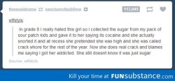 funsubstance:  Crack whore