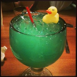"I ordered a ""drunk duck"" and now I get a fun rubber ducky. Stoked."