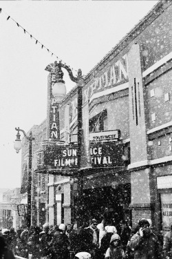 black-and-white:  snowy sundance (by *Cinnamon)