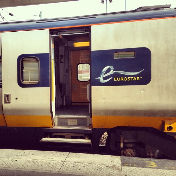 😃🚆🇬🇧 #eurostar #train #paris #london #travel #week